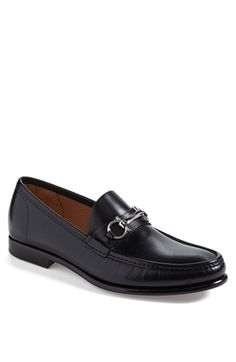 Salvatore Ferragamo 'Raffaele' Bit Loafer available at Mens Moccasins Loafers, Bit Loafers, Me Too Shoes, Men's Shoes, Dress Shoes, Gentleman Shoes, Shoe Collection, Salvatore Ferragamo, Leather Sandals
