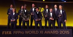 No Premier League player makes FIFPRO World XI 2015 - http://www.thelivefeeds.com/no-premier-league-player-makes-fifpro-world-xi-2015/