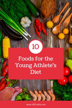 Automatically up your game with these 10 Powerhouse Foods for the Young Athlete's Diet What are the best foods for athletes? There are ten foods that should be in every young athlete diet plan so he can grow & play his best. Proper Nutrition, Sports Nutrition, Nutrition Tips, Healthy Nutrition, Nutrition Activities, Subway Nutrition, Cucumber Nutrition, Athlete Nutrition, Broccoli Nutrition
