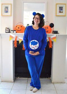 DIY: Grumpy Bear Costume (Care Bear Costume) // Cozy Reverie Blog