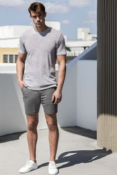 OGUY, Our Generations United Youth : We make luxury shorts for men for all occasions. Casual Shorts, Casual Outfits, Fashion Outfits, Mens Clothing Styles, Men's Clothing, Style Me, Man Style, Summer Collection, Menswear