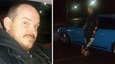 """Andreas hamnade mitt i polisdrama: """"Skrek: Kör!""""."""