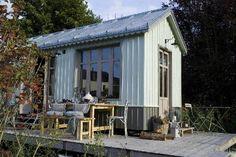 Chambre d'hote Calvados - La roulotte version cabane de pêcheur ,