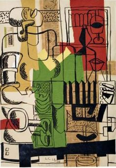 Le Corbusier, THE french architect. and also a painter in the morning.