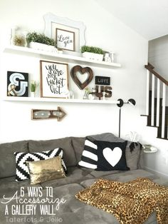 Living Room Wall Decor ideas for small living spaces | walls, room and inspiration