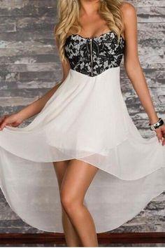 Lace chiffon dress MY0010FY