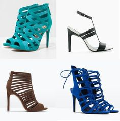 High heeled Strappy Sandals are in fashion this spring Latest Shoe Trends, Spring 2016, Strappy Sandals, Shoe Collection, Fashion Advice, Winter Outfits, High Heels, Footwear, Wedges
