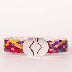Piper | Wristicuffs Multicolored European leather bracelet.  Handmade to order.  #handmade #bracelets #cuffs #armparty #leather #wristicuffs Women's Bracelets, Handmade Bracelets, Arm Party, Cuffs, Leather, Arm Warmers