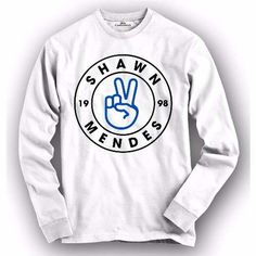 Camiseta / Camisa Manga Longa Shawn Mendes - R$ 44,90 em Mercado Livre