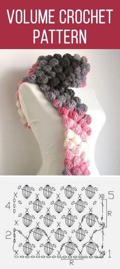 Exceptional Stitches Make a Crochet Hat Ideas. Extraordinary Stitches Make a Crochet Hat Ideas. Crochet Scarves, Crochet Shawl, Diy Crochet, Crochet Crafts, Crochet Clothes, Crochet Projects, Bobble Crochet, Crochet Stitches Patterns, Knitting Patterns