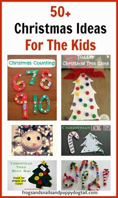 50+ Christmas Activities For The Kids #christmas #playmatters