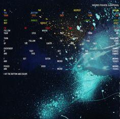Radiohead: In Rainbows: Weird Fishes/Arpeggi (Lyrics and Art)