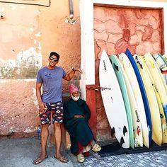 What surfing looks like in Morocco. || Waiakea Ohana @eza_surf #surfmorocco #livewaiakea
