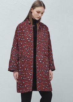Manteau coton imprimé