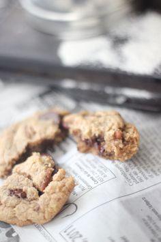 Single Serving Chocolate Chip Cookies--  grain free, dairy free, refined sugar free, paleo friendly
