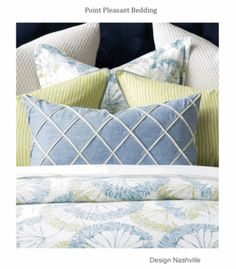 Swatch Set Point Pleasant Bedding and Drapery Collection