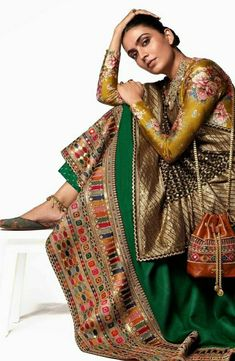 New Designer Dresses, Indian Designer Outfits, Bollywood Fashion, Bollywood Saree, Indian Look, Indian Bridal Outfits, Stylish Dresses For Girls, Saree Trends, Sabyasachi