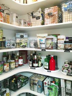 Pantry Organisation Storage Closet Kitchen Organization