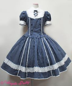 Lolibrary | Angelic Pretty - OP - Pure Memory OP Navy