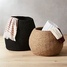 Jute circles up as laid-back basket for living room, bedroom, or entryway. Organic shape makes it susceptible to storage of all sorts—toys/magazines/towels, you name it. Furniture Layout, Furniture Arrangement, Living Room Furniture, Wood Furniture, Arrange Furniture, Furniture Outlet, Office Furniture, Outdoor Furniture, Metal Baskets