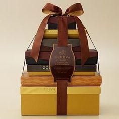 Godiva Chocolate Extravagance Gift Tower 210 Pieces