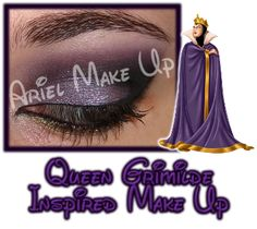 ♕ Disney Inspired Make Up ♕ Queen Grimilde ♕
