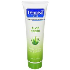 Dermasil Labs Aloe Fresh Moisturizing Body Lotion Dry Skin