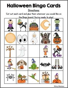 Flash Freebie- Halloween Bingo Game Halloween Carnival Games, Halloween Bingo, Halloween Trick Or Treat, School Holiday Activities, Halloween Activities, Halloween Crafts, Classroom Crafts, Classroom Resources, October Crafts
