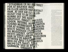 Print / typography /// S T E F A N . T H O R S T E I N S S O N