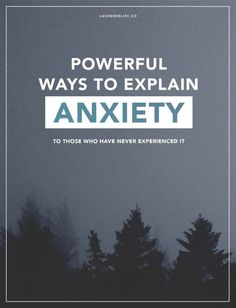 Powerful ways to explain what anxiety feels like to those who have never experienced it | Anxiety | Mental health | panic attack | anxiety attack | awareness | support | self-care | self-love | recovery