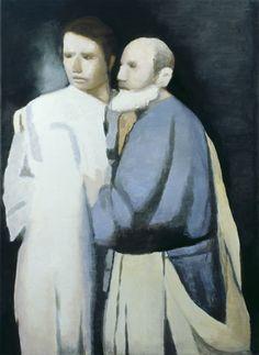 'Petrus & Paulus, 1998, Luc Tuymans
