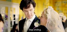 When Sherlock and Mary had this adorable moment.