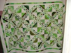 Jean's Green Quilt