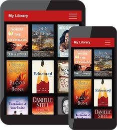tablet apps John Grisham, Danielle Steel, Nora Roberts, James Patterson, Bedtime, Audio Books, Free Apps, Marketing Books, Reading
