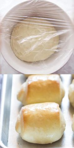 The BEST soft and fluffy homemade Dinner Rolls recipe! Enjoy homemade rolls any… The BEST soft and fluffy homemade Dinner Rolls recipe! Enjoy homemade rolls any day of the week but especially for Thanksgiving and holidays! Baking Recipes, Dessert Recipes, Recipes With Yeast, Kitchen Aid Recipes, Cake Roll Recipes, Artisan Bread Recipes, Best Bread Recipe, Best Roll Recipe, Best Dinner Roll Recipe