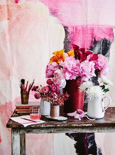 March 2016 issue. Paints & Fabrics. Photography Lisa Cohen, Styling Tess Newman-Morris.