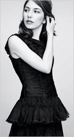 Sofia Coppola in a Chanel Paris New York Collection dress Style icon: Sofia Coppola