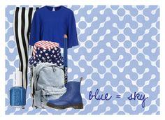 """blue #4"" by lallushka on Polyvore"
