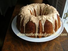 Butterscotch Rum Cake-A great cake for the holidays or anytime.