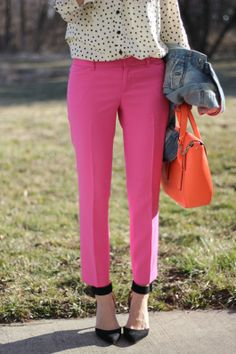 Spring colors (outfit details on the blog)-- Lilly's Style