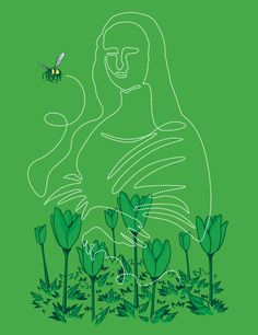 I love Art [Chow Hon Lam - Flying Mouse 365] (Gioconda / Mona Lisa)