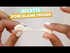 Recette Porcelaine Froide. - YouTube