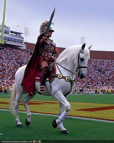 USC Trojans' mascot, Traveler