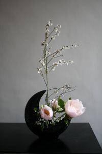ikebana japan - Ceramics and Pottery Arts and Resources Ikebana Arrangements, Ikebana Flower Arrangement, Beautiful Flower Arrangements, Flower Vases, Floral Arrangements, Beautiful Flowers, Cactus Flower, Deco Floral, Arte Floral