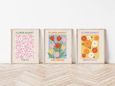 Room Ideas Bedroom, Bedroom Decor, Pastel Room, Deco Boheme, Flower Market, My New Room, Wall Prints, Room Inspiration, Printable Art