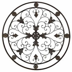 Skelton Metal Round Wall Art Decorwrought