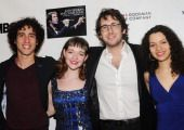 """Josh Groban: Sing Your Song: YoungArts MasterClass"" New York Screening By: Desiree Navarro WireImage People: David Stewart Jr.; Miranda Sco..."