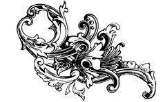 Aquí está la muestra gratis de nuestro barroco Ornamento de vector Descargar todo el conjunto aquí (8 ilustraciones detalladas): http://wegraphics.net/downloads/vectors/baroque-ornament-vectors-vol1/