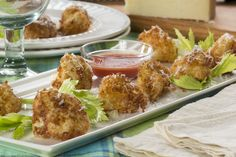Parmesan Crusted Cauliflower - How about baking instead of frying?