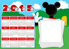 Calendário Mickey 2015